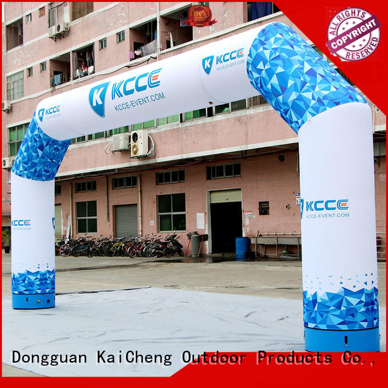 Inflatable combined arch