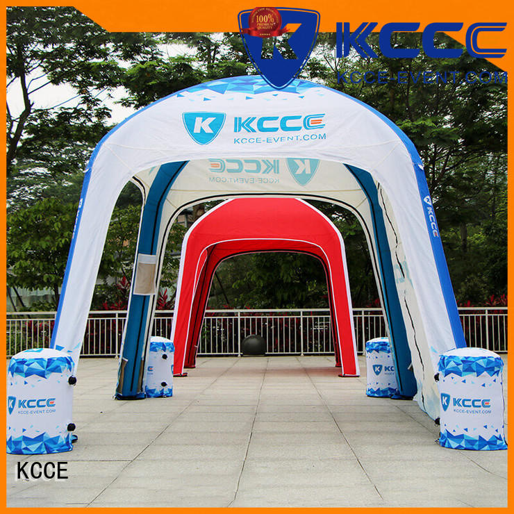 KCCE custom color printed inflatable tents supply for outdoor