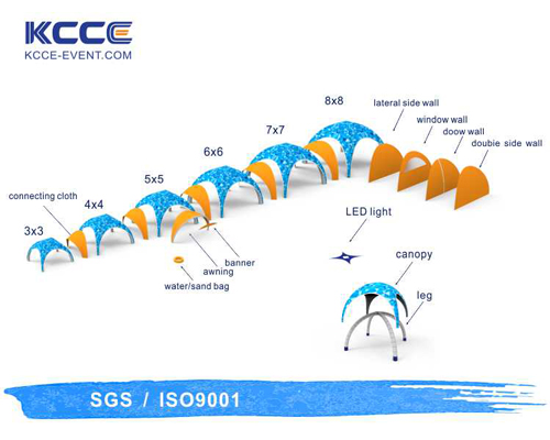 inflatable shade tent for promotion KCCE-10