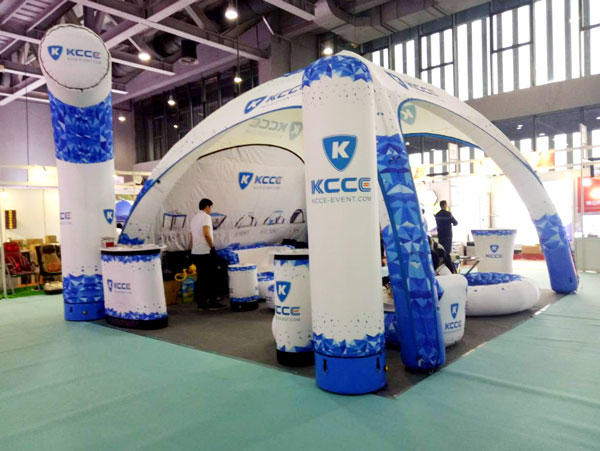 March 2018, attend guangzhou advertising exhibition