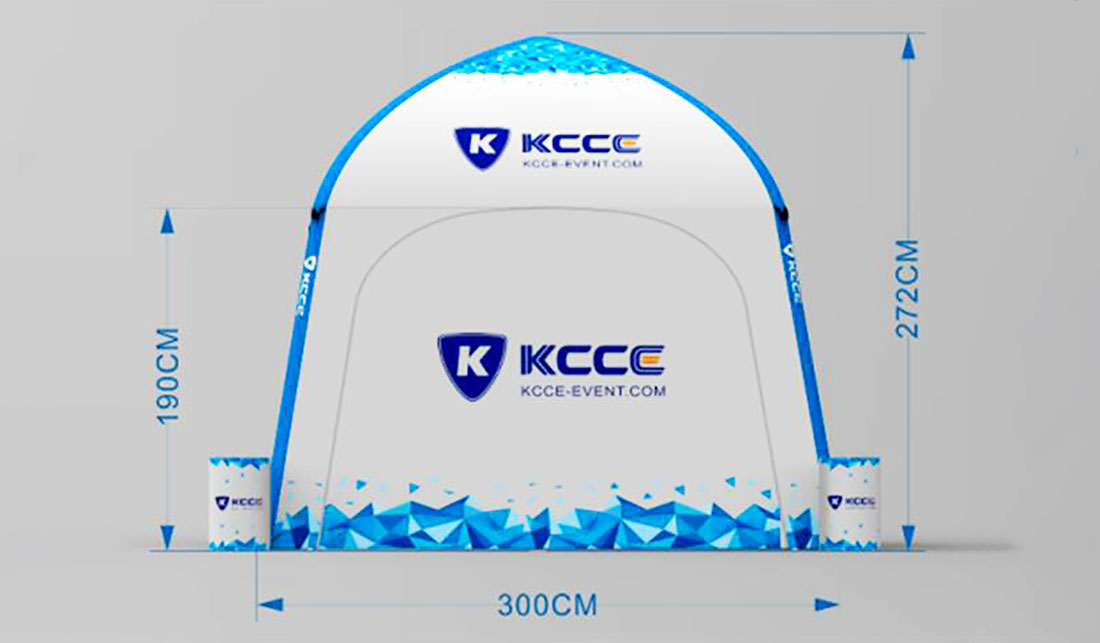 KCCE double layer inflatable event tent for busniess for trade show-9