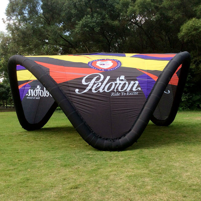 Inflatable V tent 6mx6m