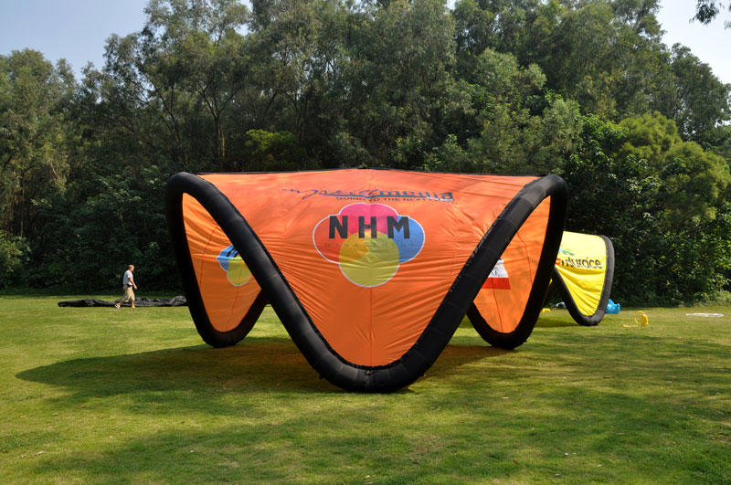 custom inflatable tents factory for advertising