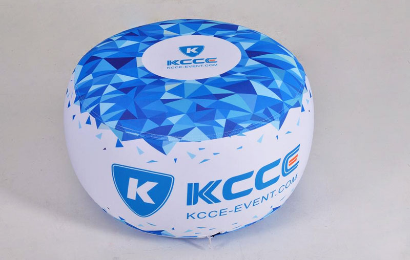 KCCE double layer inflatable ottoman footstool supplier for sale-1