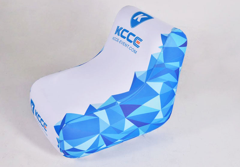 KCCE pvc blow up chair factory for promotion-2