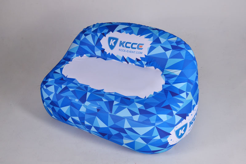 KCCE inflatable doughnut with led light for party-1
