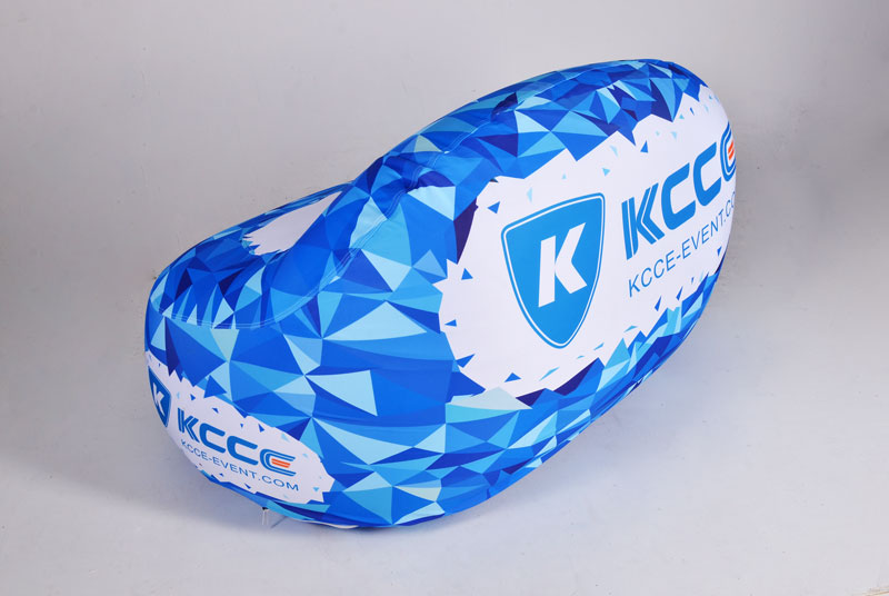 KCCE inflatable doughnut with led light for party-2