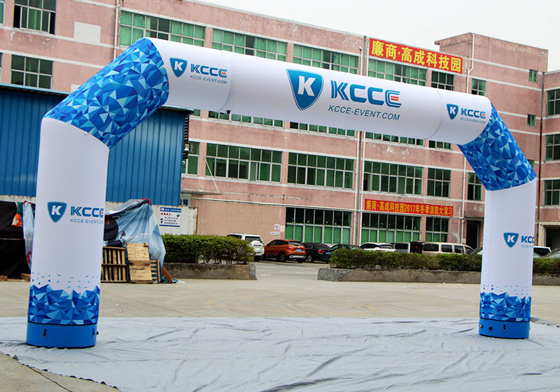 KCCE inflatable display with four tubes for outdoor activities-1