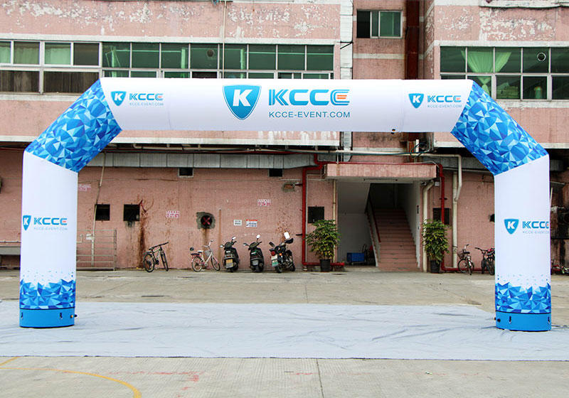 KCCE start finish line fast delivery for marathon