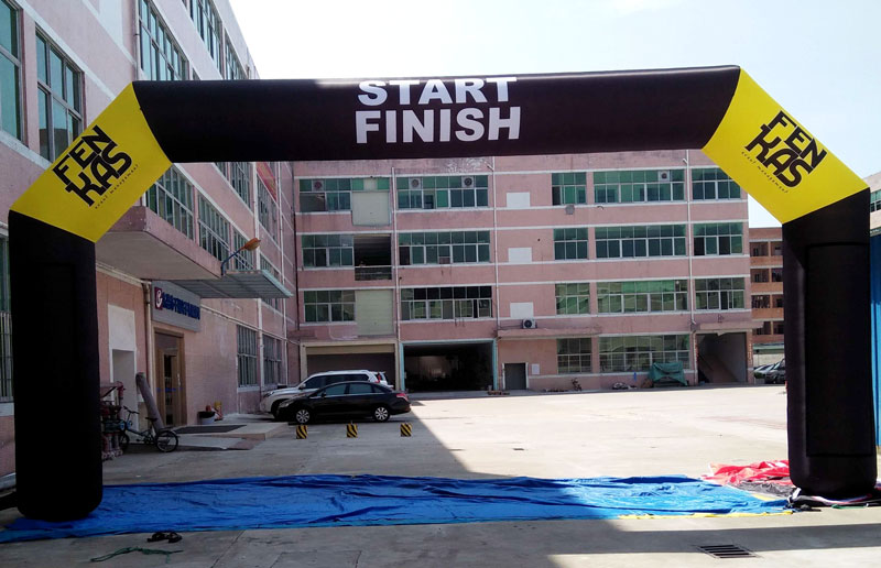 KCCE inflatable finish line factory for advertising-1
