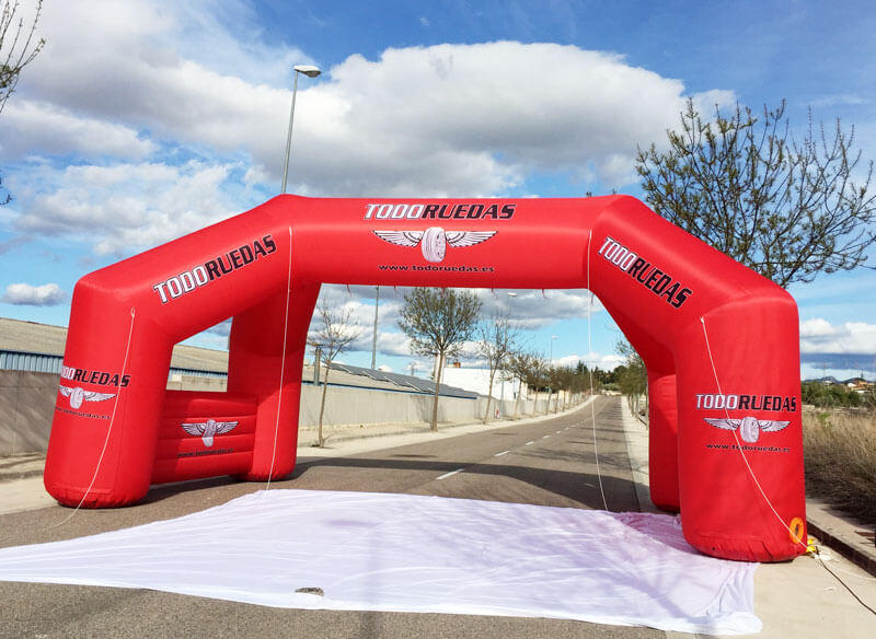KCCE air tight start finish line fast delivery for marathon