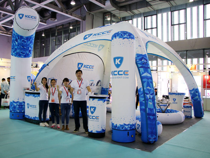KCCE INFLATABLE ADVERTISING PROMOTION TENT