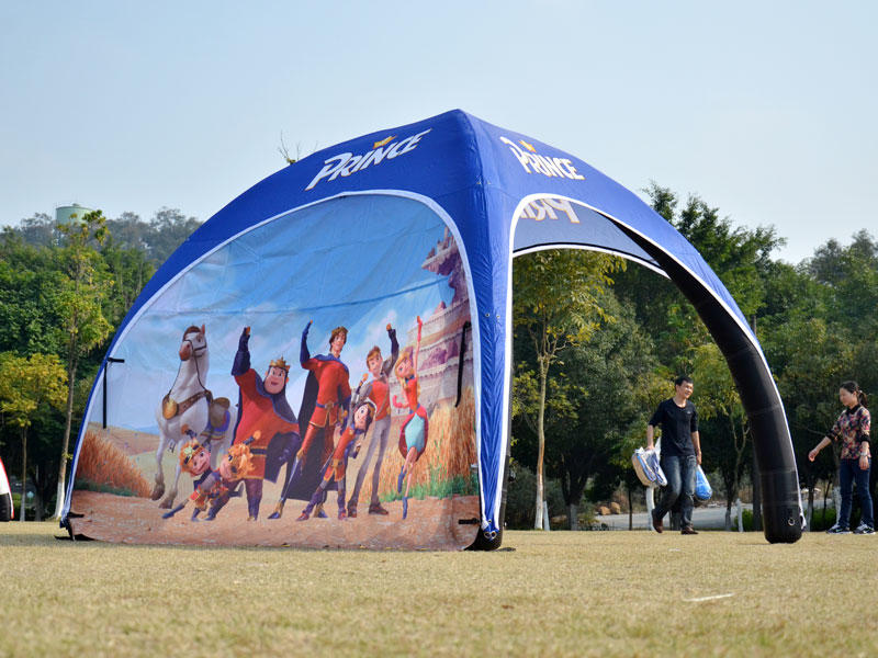 KCCE EXTREME OUTDOOR SPORTS INFLATABLE TENT