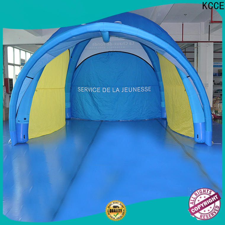 KCCE cinch inflatable shelter manufacturer for trade show