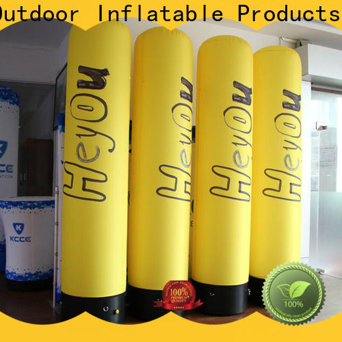 KCCE customized inflatable columns factory for promotion