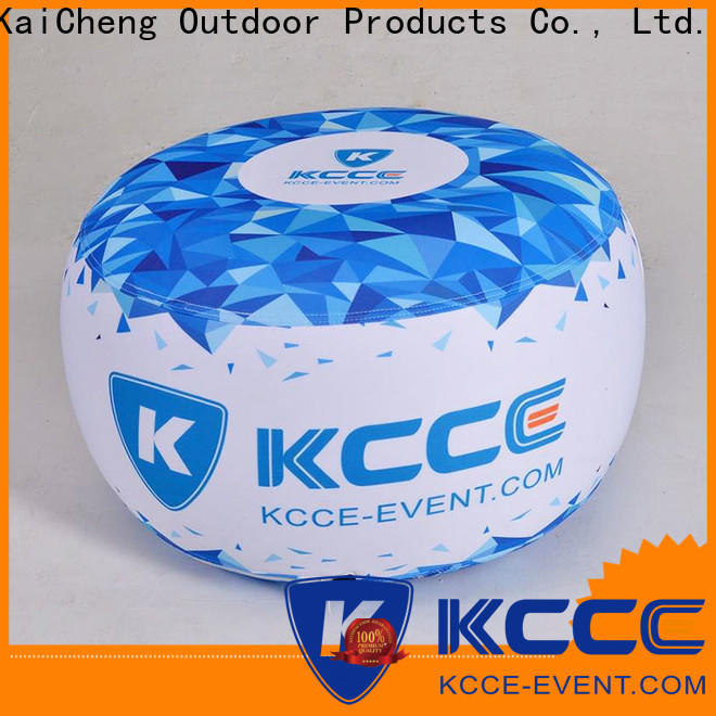 KCCE double layer inflatable ottoman footstool supplier for sale