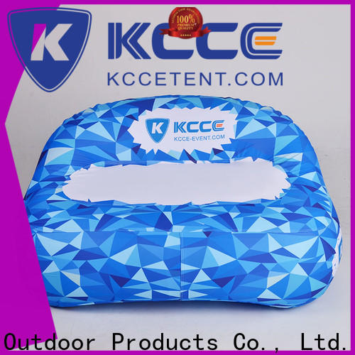 KCCE high quality inflatable sofa with couch for party