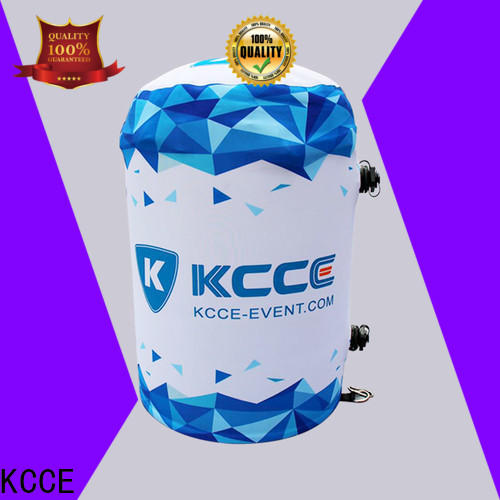 KCCE designed air rolls with leg lights inside for advertising