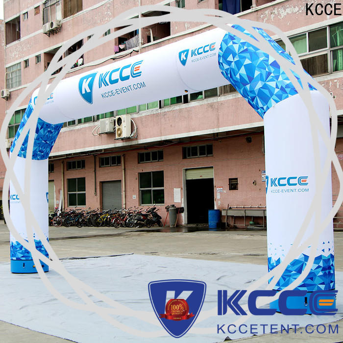 KCCE inflatable display with four tubes for outdoor activities