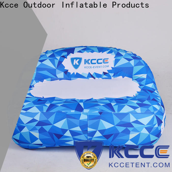 KCCE top inflatable air sofa supplier for party