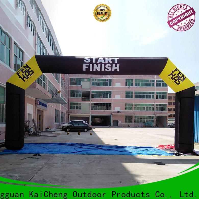 KCCE inflatable start finish line start finish for advertising