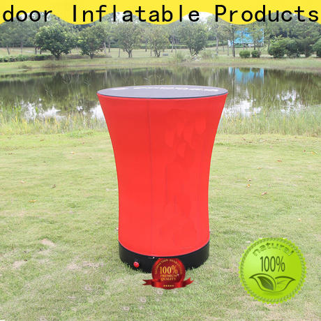 cheap inflatable furniture barrel for outdoor events