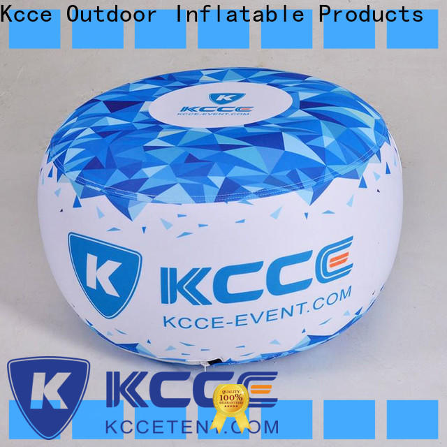 top inflatable ottoman footstool company for trade show
