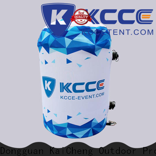 KCCE inflatable garden furniture with leg lights inside for advertising