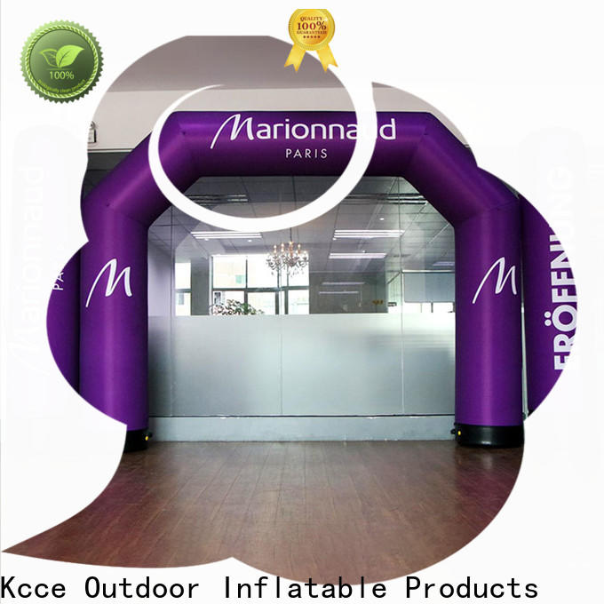 KCCE inflatable arch supply for marathon