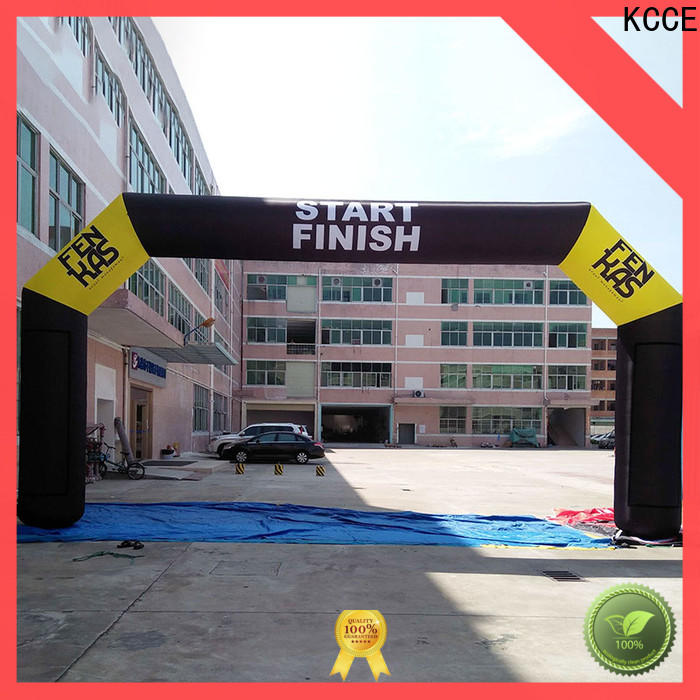 KCCE inflatable finish line factory for advertising