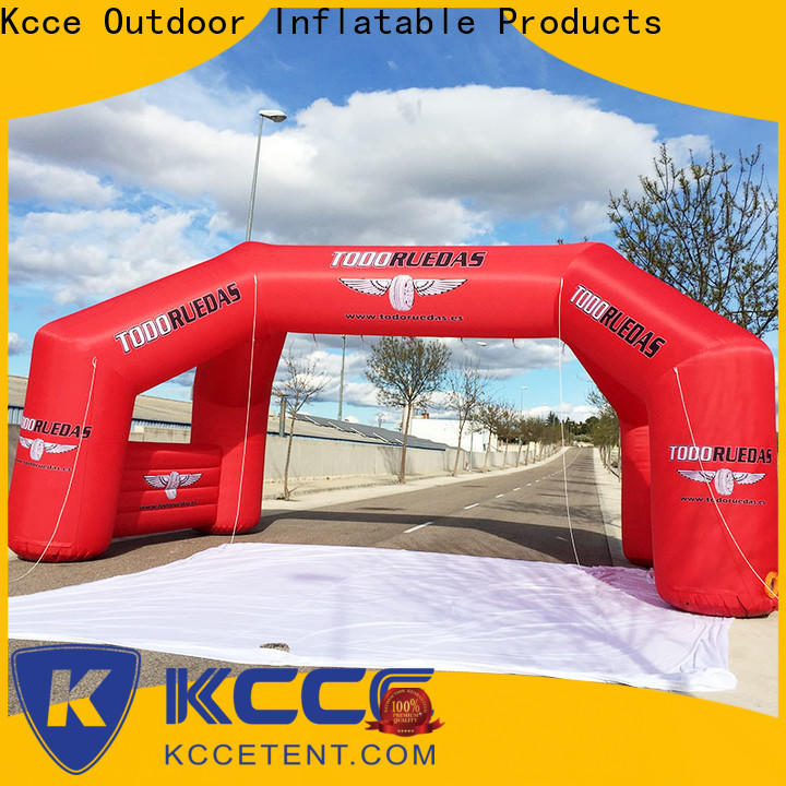 dacron inflatable start finish line for busniess for marathon