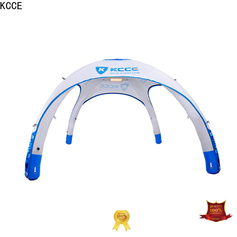 KCCE custom color printed inflatable marquee with electric pump for outdoor