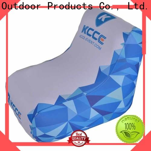 KCCE inflatable air chair supplier for sport