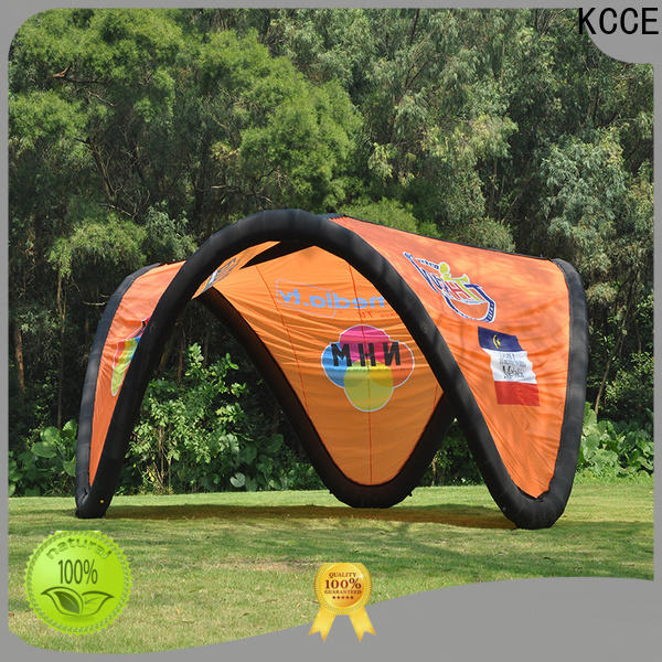 KCCE new inflatable canopy with extra printed panels for advertising