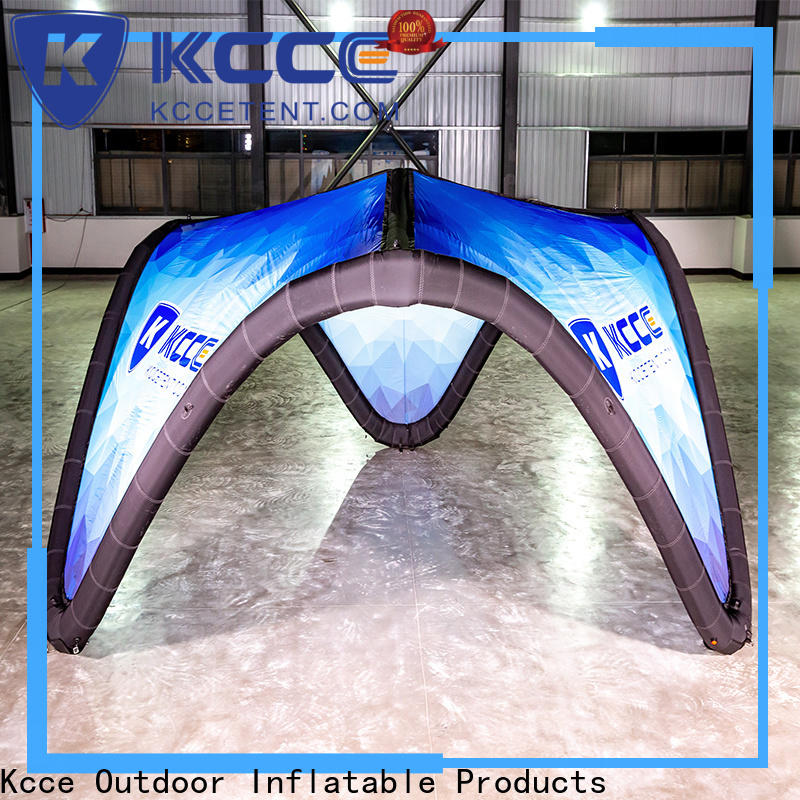KCCE dacron inflatable canopy company for promotion