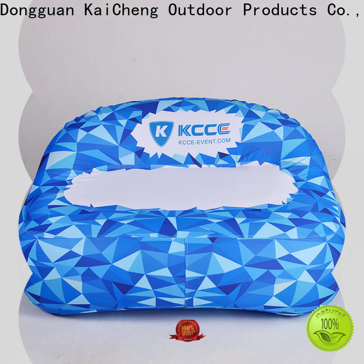 KCCE inflatable doughnut with led light for party