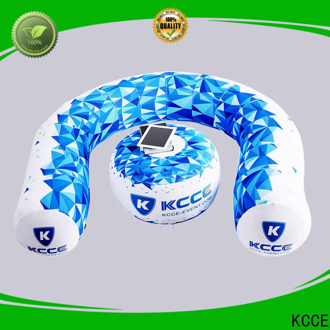KCCE inflatable seat factory for event