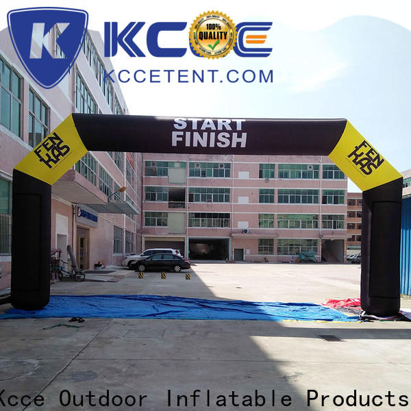 KCCE dacron start finish line with four tubes for outdoor activities