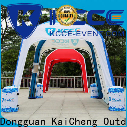 KCCE double layer inflatable tents folding for promotion