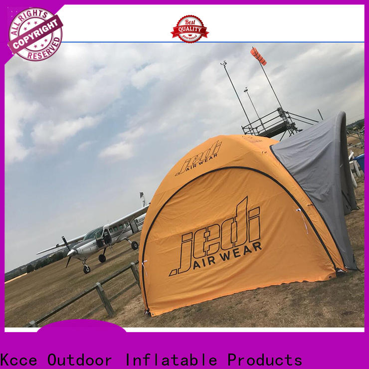 KCCE marquee inflatable camping tent factory for trade show