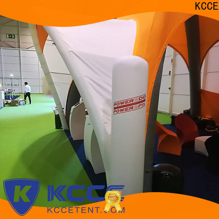 KCCE cheap inflatable tent manufacturer for trade show