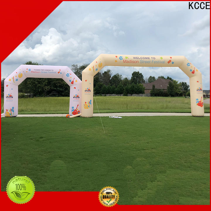 KCCE inflatable finish line start finish for marathon