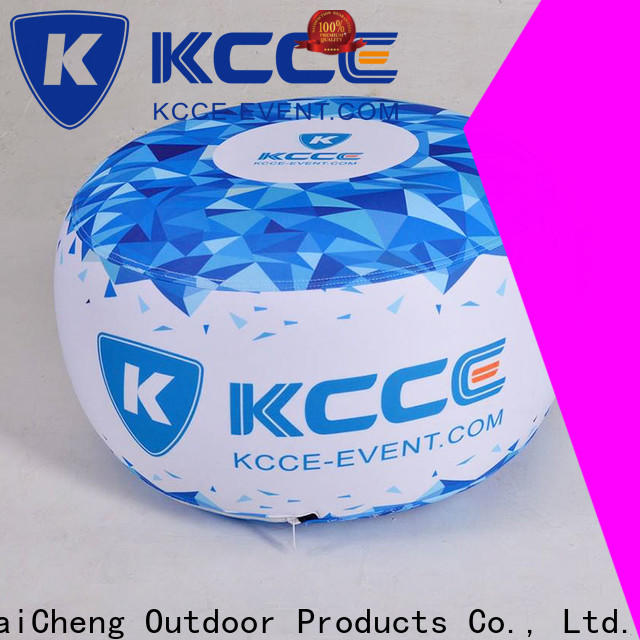 KCCE inflatable ottoman footstool factory for outdoor event