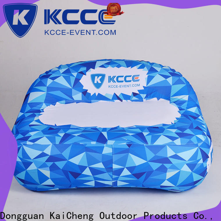 KCCE top inflatable outdoor sofa for busniess for party