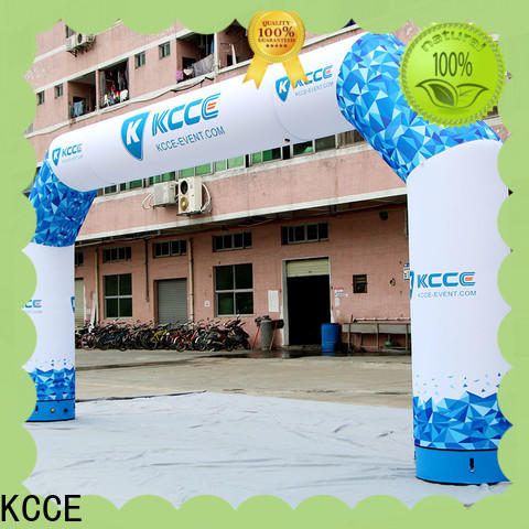 KCCE inflatable display start finish for advertising