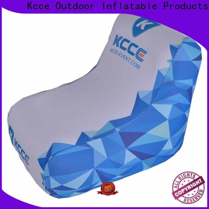 KCCE latest cheap inflatable chairs for busniess for events