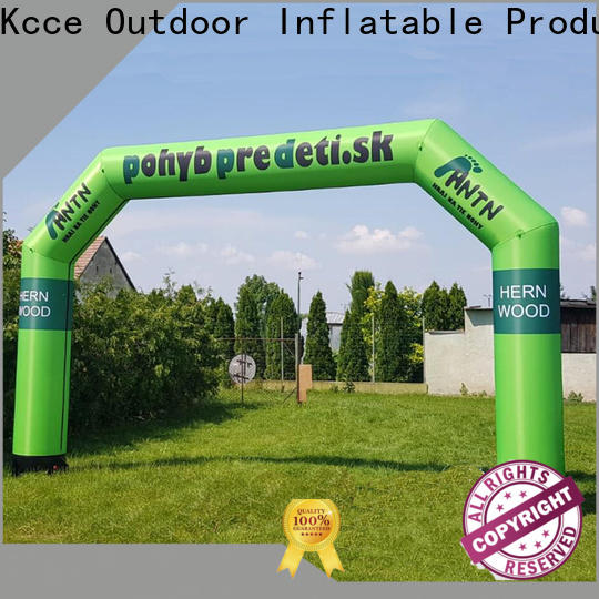 KCCE inflatable arches with four tubes for advertising