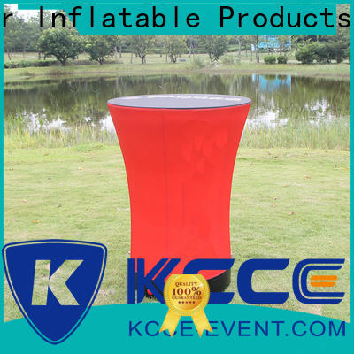KCCE high quality inflatable furniture barrel for outdoor events