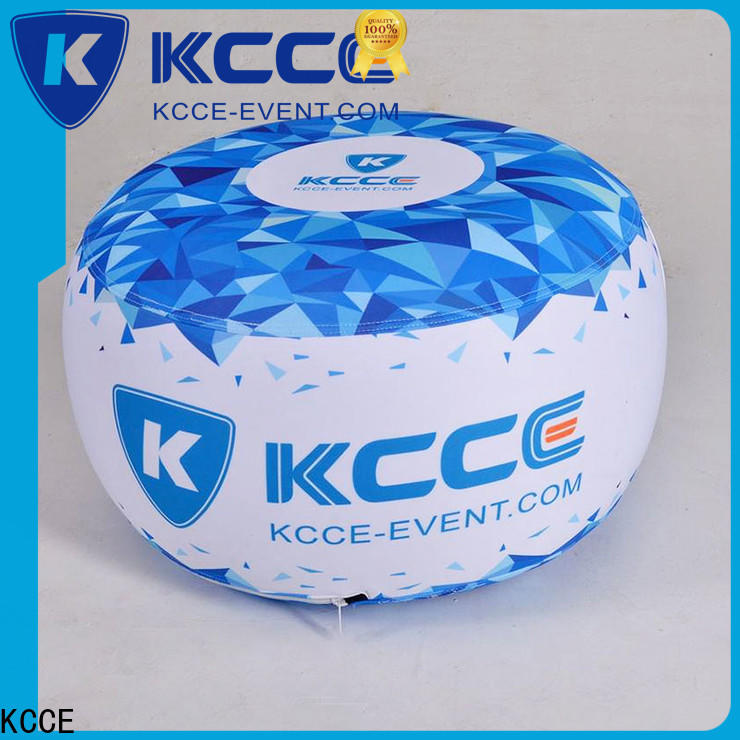 professional inflatable ottoman with pvc for trade show