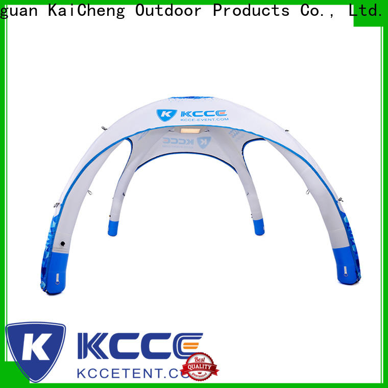 KCCE inflatable shade with extra printed panels